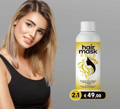 hair mask gold 2x1
